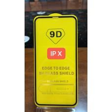 """Защитное стекло """"Full Glue"""" для Iphone X/XS/11 Pro - Черное (тех.пак)"""