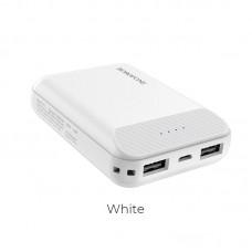 Power Bank Borofone BT17 RayPower mini 10000mAh - White