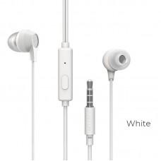 Наушники Borofone Wired earphones BM28 Tender sound - White