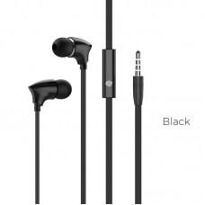 Наушники Borofone BM26 Rhythm universal earphones with mic - Черный