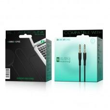 Кабель Borofone AUX audio BL1 Audiolink - Черный