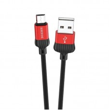 Кабель Borofone Cable USB to Micro-USB BX28 Dignity - Red