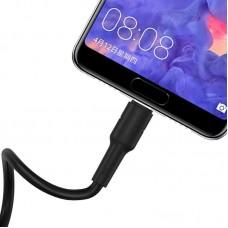 Кабель Borofone Type-C Cable USB to USB-C BX30 Silicone - Black