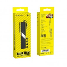 Селфи Палка Borofone BY3 3.5mm wired remote control selfie stick - Black