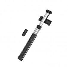 Селфи палка hoco K10B Magnificent wireless selfie stick with backlight (L=1.6m) - Black