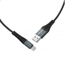 Кабель hoco X38 Cool Charging data cable for Type-C - Black