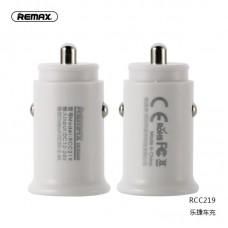 Автомобильное ЗУ Remax Roki series Car Charger RCC219 - White