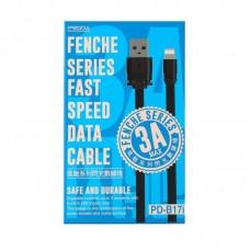 Кабель Proda Fenche series for iphone PD-B17i - Black