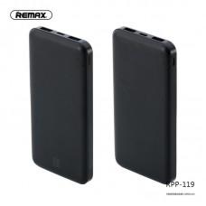 Power Bank REMAX Jane Series 10000mah RPP-119 - Black