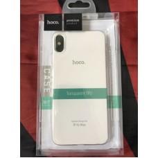 Чехол hoco Light series TPUiPhone XS Max - Прозрачный