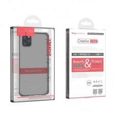 """Чехол hoco iPhone 11 Pro Max """"Light series"""" TPU - Темный"""