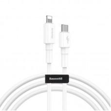 Кабель Baseus Mini White Cable Type-C to iP PD 18W 1m (CATLSW-02) - White