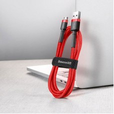 Кабель Baseus cafule Cable USB For Micro 2A 3m (CAMKLF-H09) - Red+Red
