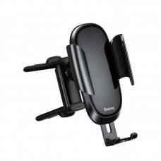 Автодержатель Baseus Future Gravity Vehicle-mounted Holder Applicable to Round Air Outlet (SUYL-BWL01) - Black