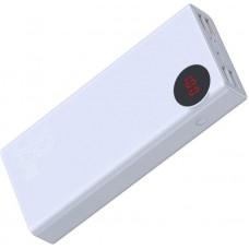 Внешний аккумулятор Baseus Mulight Digital Display Quick charge PD3.0+QC3.0 Power Bank 18W 20000mAh (PPALL-MY02) - White