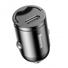 Автомобильное зарядное устройство Baseus Tiny Star Mini PPS Car Charge Type-C Port 30W (VCHX-B0G) - Gray