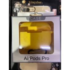 """Чехол силиконовый """"Case"""" для AirPods Pro - Yellow"""