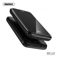 Power Bank Remax 10000mAh RPP-133 Mirror Wireless - Black