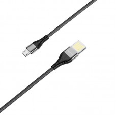 Кабель Borofone BU11 Tasteful charging data cable for Micro - Black