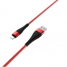 Кабель Borofone BX32 Munificent charging data cable for Lightning - Red