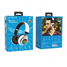 Наушники Borofone BO8 Love Song wireless headphones - White
