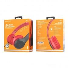 Наушники Borofone BO5 Star sound wired headphones - Красный