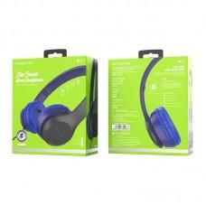 Наушники Borofone BO5 Star sound wired headphones - Blue
