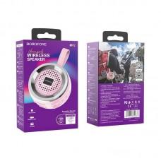 Колонка Borofone BR2 Aurora sports wireless speaker - Pink