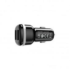 Автомобильное ЗУ BZ13 Extreme dual port car charger - Black