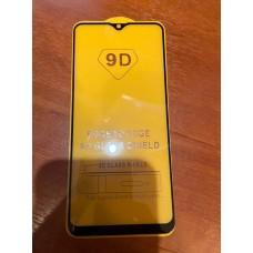 """Защитное стекло """"Full Glue"""" для Samsung A20s (тех.пак) - Черный"""