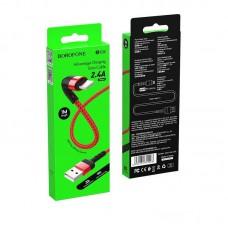 Кабель Borofone BX34 Advantage charging data cable for Lightning - Red