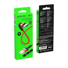 Кабель Borofone BX34 Advantage charging data cable for Type-C - Red