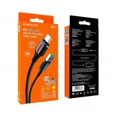 Кабель Borofone BU14 Heroic charging data cable for Type-C - Black