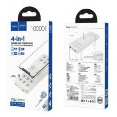 Power Bank hoco J56 Sea power 10W wireless charging mobile (10000mAh) - White