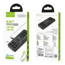 Power Bank hoco J56 Sea power 10W wireless charging mobile (10000mAh) - Black