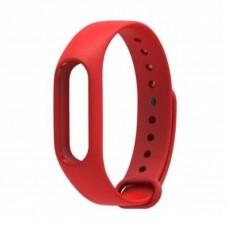 Ремешок Силиконовый для Xiaomi Mi Band 2 Красный