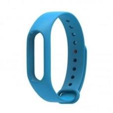 Ремешок Силиконовый для Xiaomi Mi Band 2 Синий