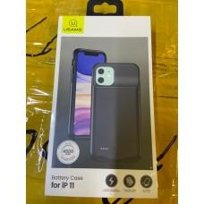 Чехол Usams Battery Case для Iphone 11 - Black