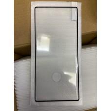 """Защитное стекло """"Full Glue"""" для Samsung N10 - Черный (тех.пак)"""