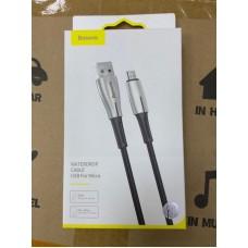 Кабель Baseus Waterdrop Cable USB For Micro 4A 1m (CAMRD-B01) - Black