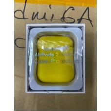 Чехол силиконовый new для AirPods 2 - Желтый