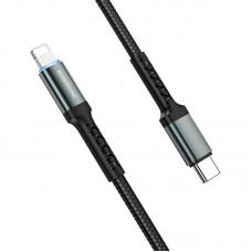 Кабель Borofone BU22 Superior PD Fast charging data cable for Lightning - Black