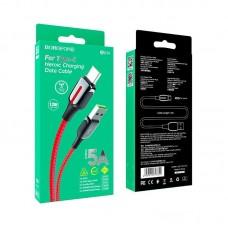 Кабель Borofone BU14 Heroic charging data cable for Type-C - Red