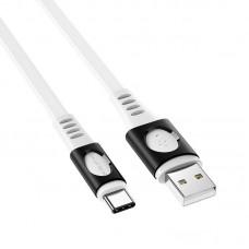 Кабель Borofone BX35 Carib charging data cable for Type-C - White