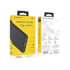 Power Bank Borofone BT30 Dynamic PD+QC3.0 mobile power bank 10000mAh) - Black