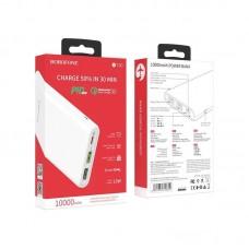 Power Bank Borofone BT30 Dynamic PD+QC3.0 mobile power bank 10000mAh) - White