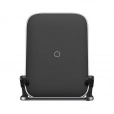 Беспроводное зарядное устройство Baseus Rib Horizontal and Vertical Holder Wireless Charging 15W (WXPG-01) - Black