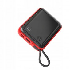 Внешний аккумулятор Baseus Mini S Digital Display 3A Power Bank 10000mAh (With Type-C Cable) (PPXF-A09) - Red