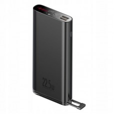 Внешний аккумулятор Baseus Starlight Digital Display Quick Charg Power Bank 20000mAh 22.5W (PPXC-01) - Black