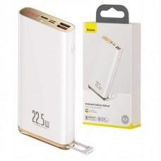 Внешний аккумулятор Baseus Starlight Digital Display Quick Charg Power Bank 20000mAh 22.5W (PPXC-02) - White